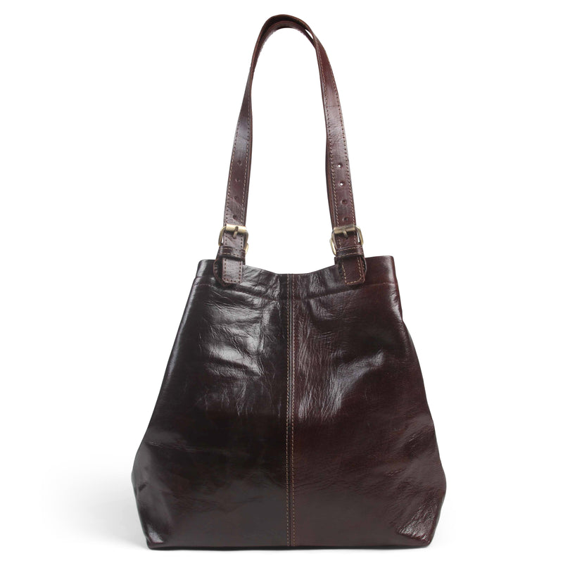 Shopper Tote - Chocolate