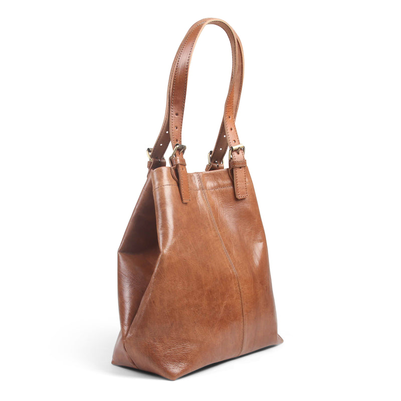 Shopper Tote - Tan