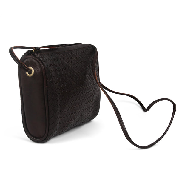 Simone Crossbody - Chocolate-ISMAD LONDON