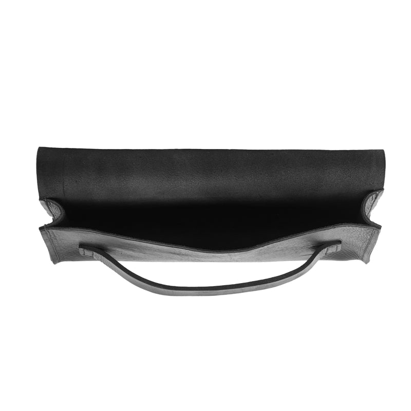 Natasha Clutch Bag - Black-ISMAD LONDON