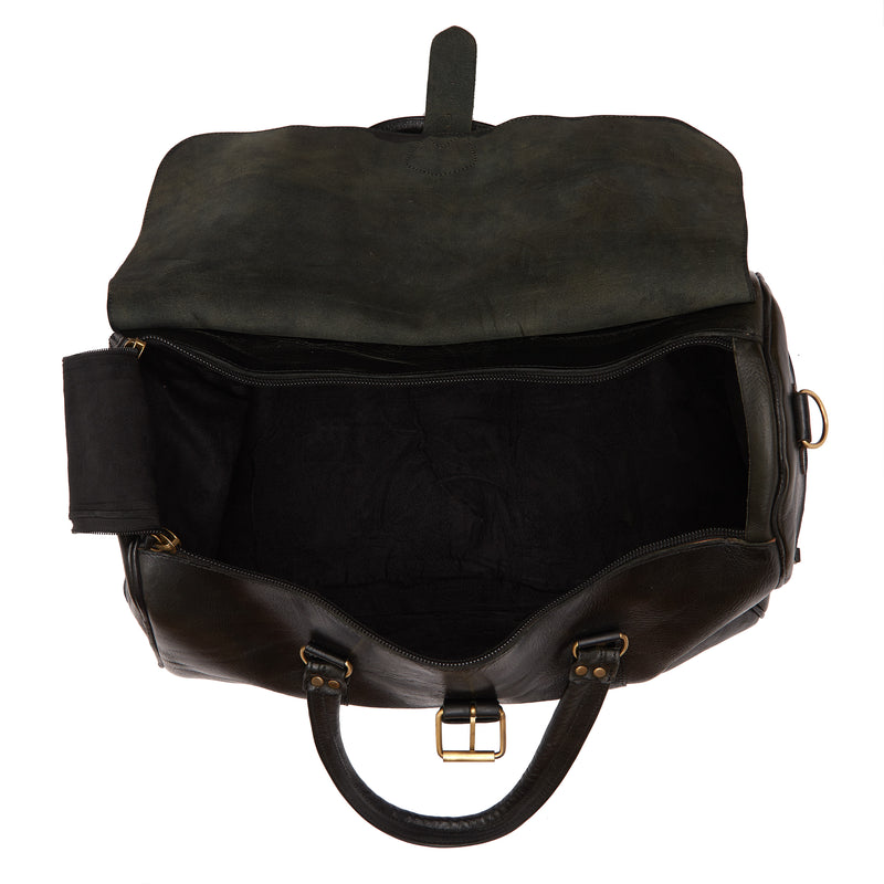 Ismad Travel Bag - Black