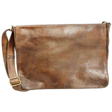 mens leather messenger
