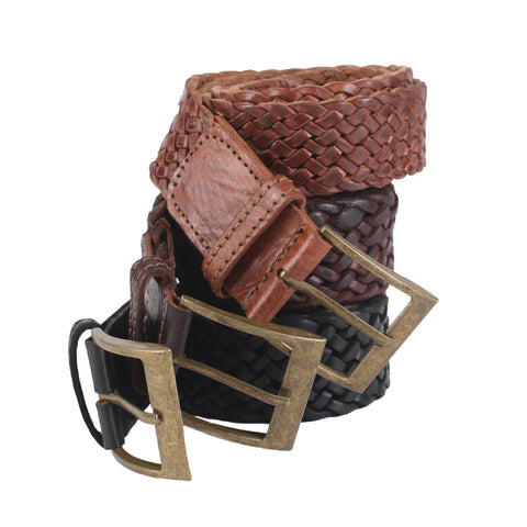 £39.00 - Woven Leather Belt