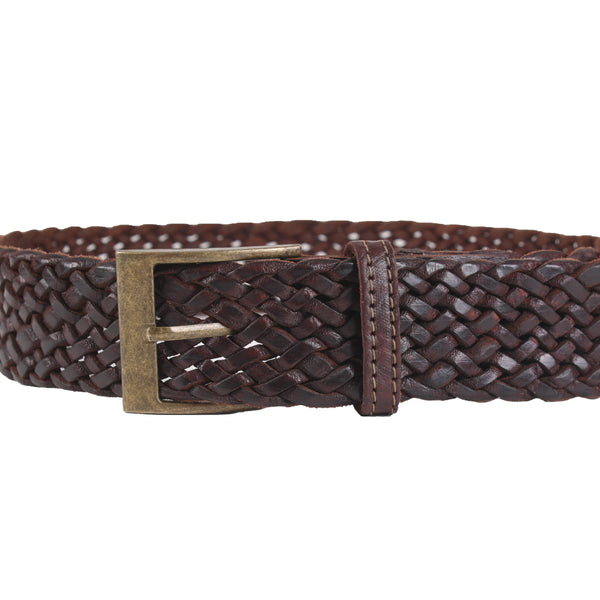 £19.00 - Woven Leather Belt