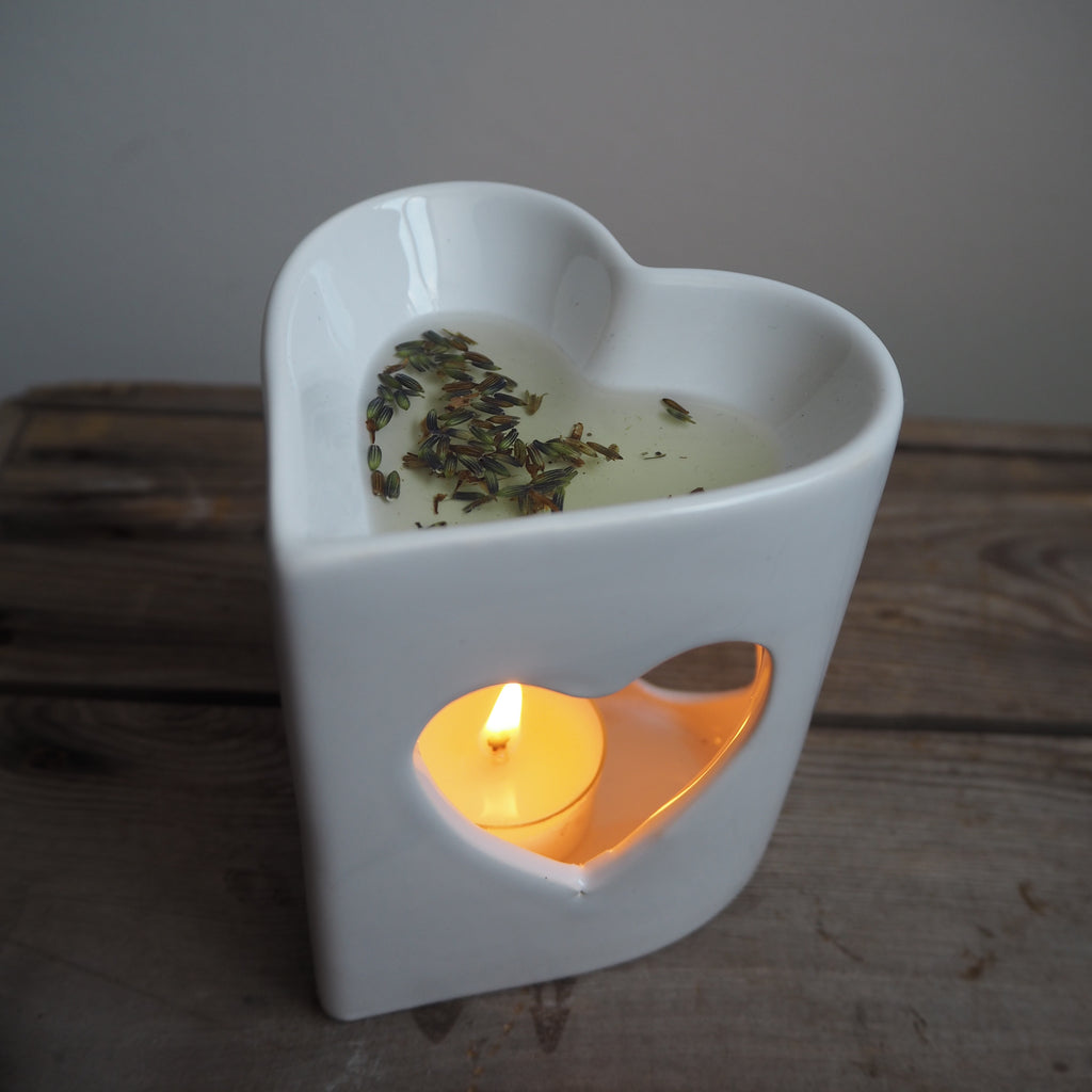 How to use soy wax oil burner melts
