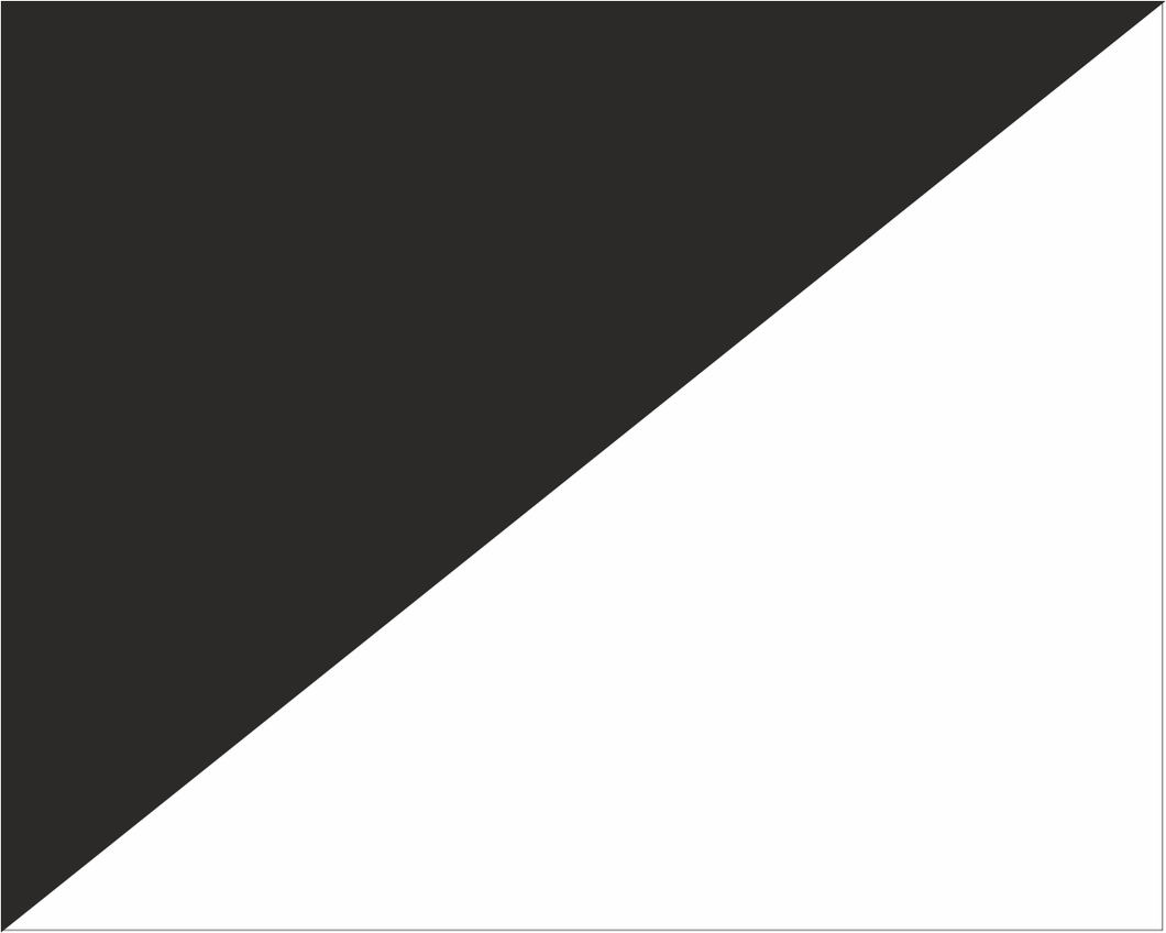 Black and White Diagonal Halves 'UNSPORTSMAN BEHAVIOUR' Road Race Flag