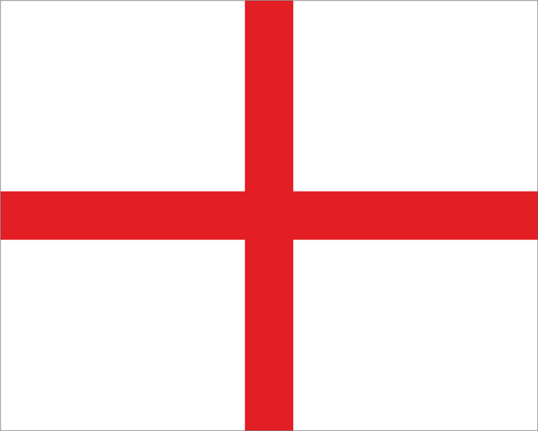 White with Red + 'FIRST AID' Road Race Flag