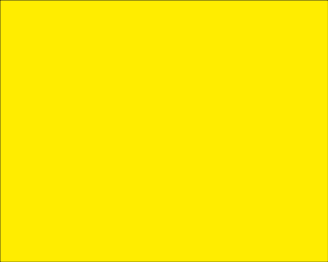 Yellow 'CAUTION' Motocross Flag