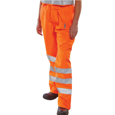 Orange Hi-Viz Superior Over-Trousers