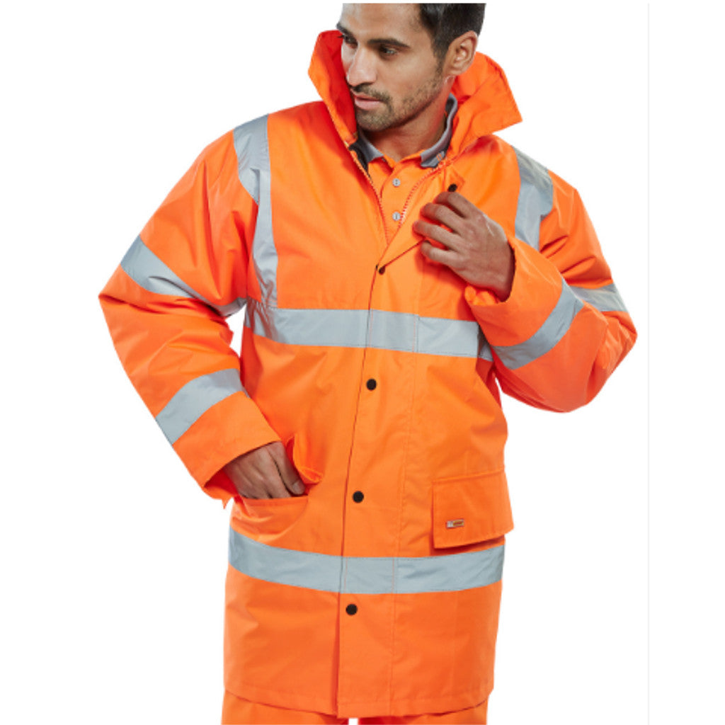 Orange Hi-Viz Jacket