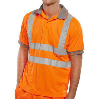 Orange Hi-Viz Polo