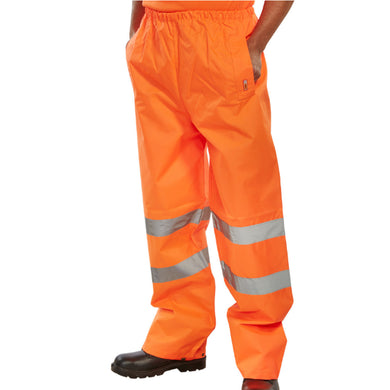 Orange Hi-Viz Value Over-Trousers