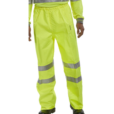 Yellow Hi-Viz Superior Over-Trousers