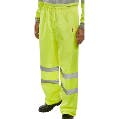 Yellow Hi-Viz Value Over-Trousers