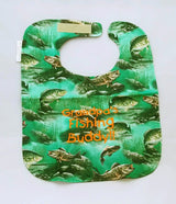 Fishing Baby Bib - Grandpa's Fishing Buddy