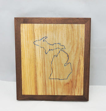 State of Michigan Hot Plate Trivet - In Stock Ready to Ship