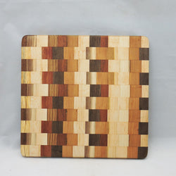 Cutting Board - Multiple Woods Edge Grain 10 - In stock ready to ship - FREE Shipping to U.S.