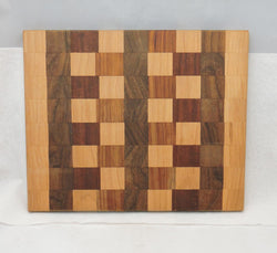 Cutting Board - Multiple Woods Edge Grain 2 - In stock ready to ship