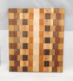 Cutting Board - Multiple Woods Edge Grain 7 - In stock ready to ship