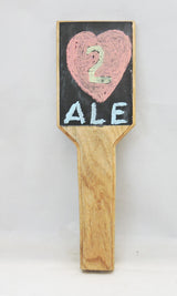 Tap Handle - Chalkboard - Man Cave Bar Room - In stock ready to ship