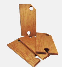 Wine and Cheese Board - Cherry Wood