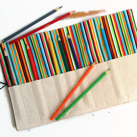 Poole Striped Pencil Holder