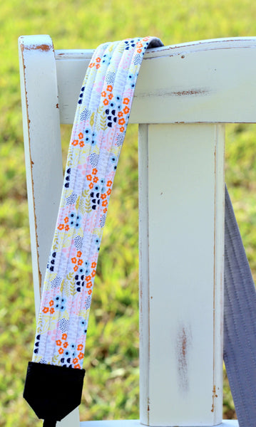 Marley Gentle Floral Camera Strap