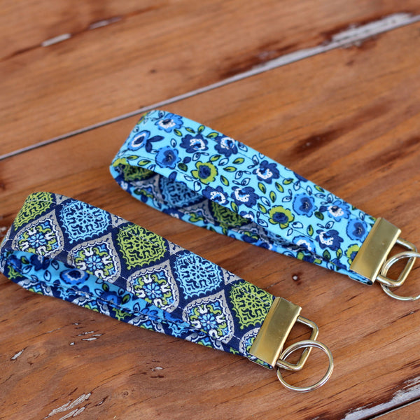 Ventura Blue Green Key Fobs