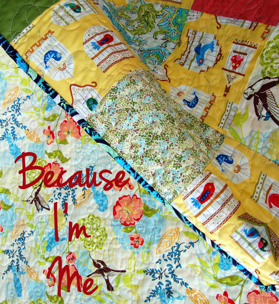 For the Birds Small Quilt