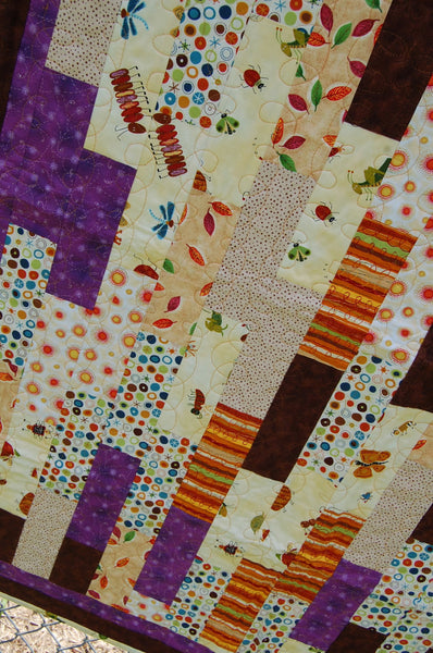 Whimsical Woodsy Baby Quilt
