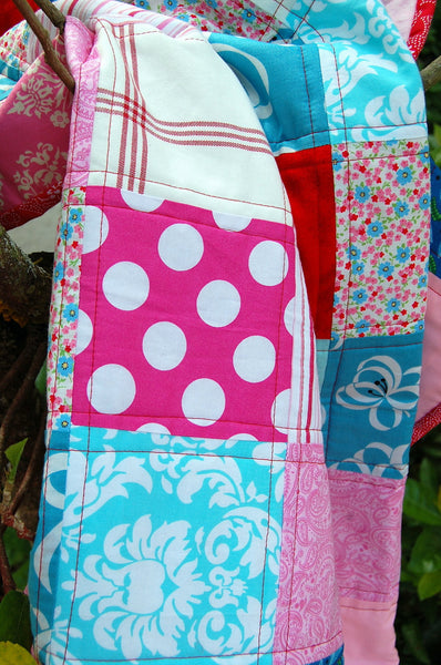 Pretty Pinks Baby Quilt