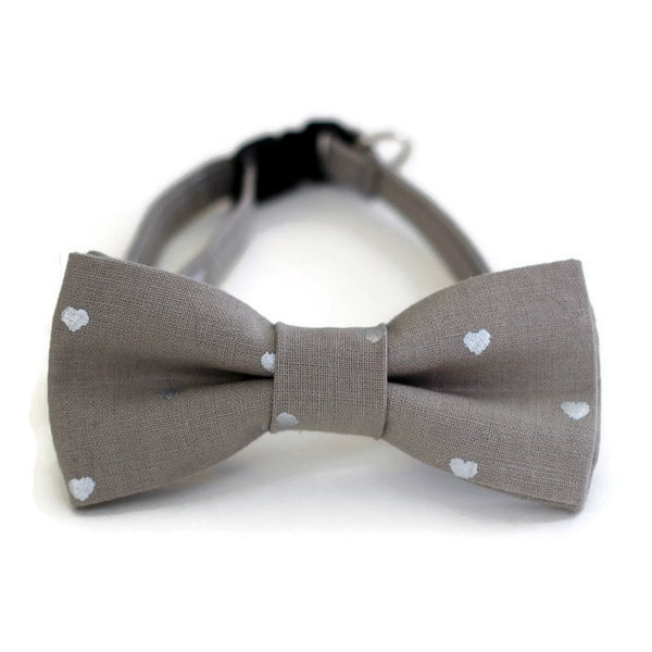 Lumsden Gray Cat Bow Tie