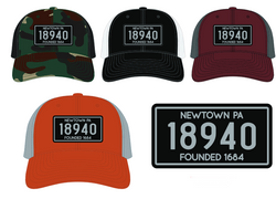 18940 Patch Hats (multiple colors)