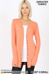 PRESALE Button Cardigan