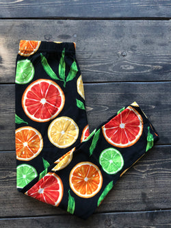 Kids Citrus Leggings