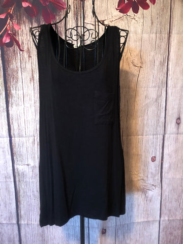 Black Pocket Tank