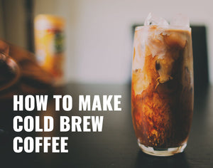 How to make cold brew coffee with the Hario Mizudashi coffee pot