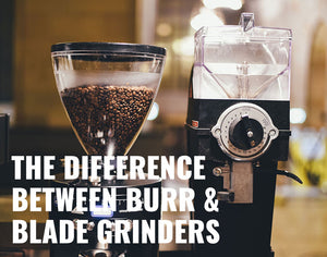 burr and blade coffee grinders