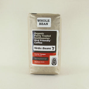 Birds & Beans Organic Scarlet Tanager Dark Roast