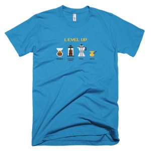 "Men's Short Sleeve Super Soft T-Shirt ""Level Up"""