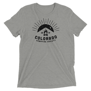 "Unisex Super Soft Short Sleeve T-Shirt ""Colorado Campfire Society 2019"""