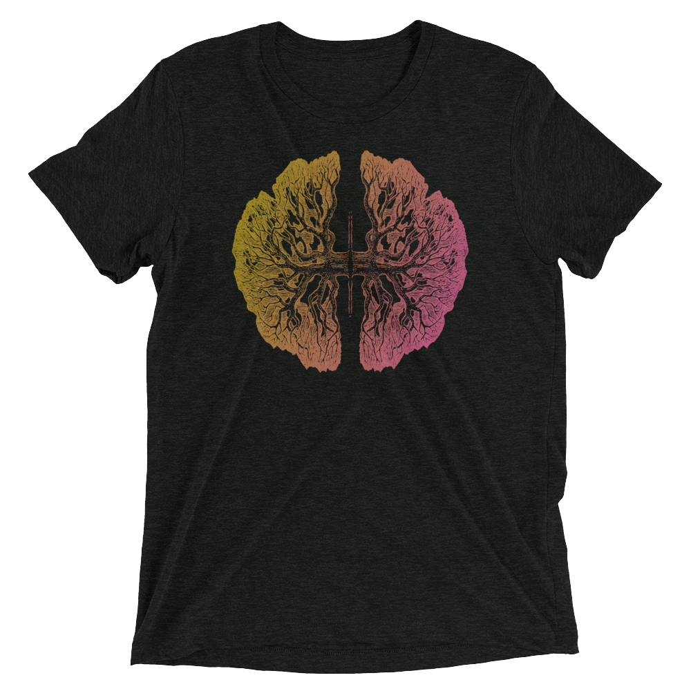"Unisex Super Soft Short Sleeve T-Shirt ""Tree Lungs"""