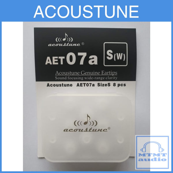 Acoustune Aet07A S M L Eartips 4 Pairs With Case Eartip