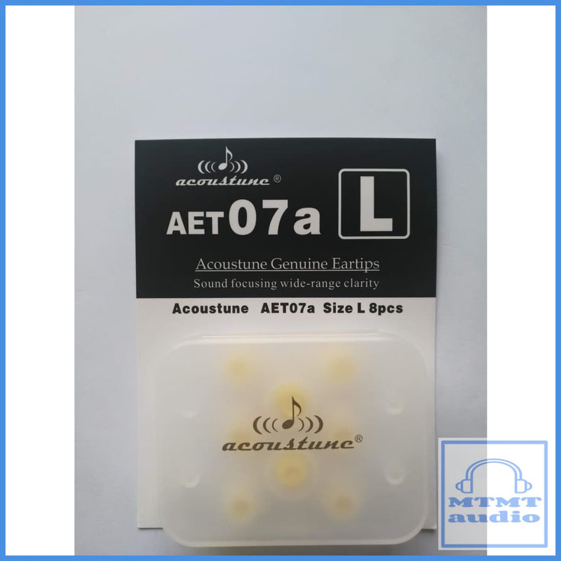 Acoustune Aet07A S M L Eartips 4 Pairs With Case Large (4 Pairs Case) Eartip