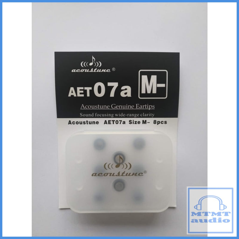 Acoustune Aet07A S M L Eartips 4 Pairs With Case Medium M- (4 Pairs Case) Eartip
