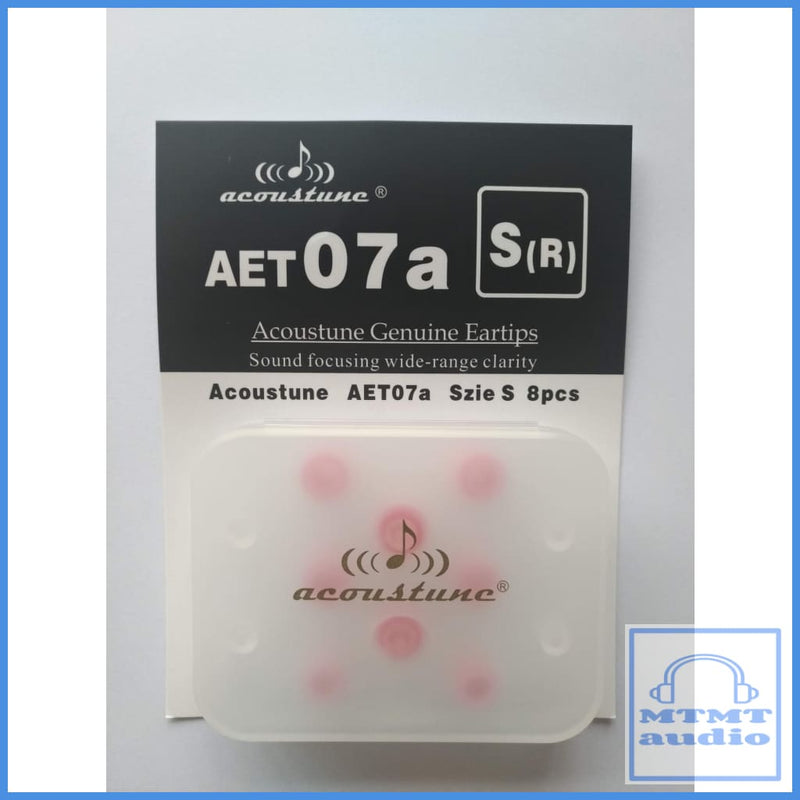 Acoustune Aet07A S M L Eartips 4 Pairs With Case Small S(R) Red (4 Pairs Case) Eartip