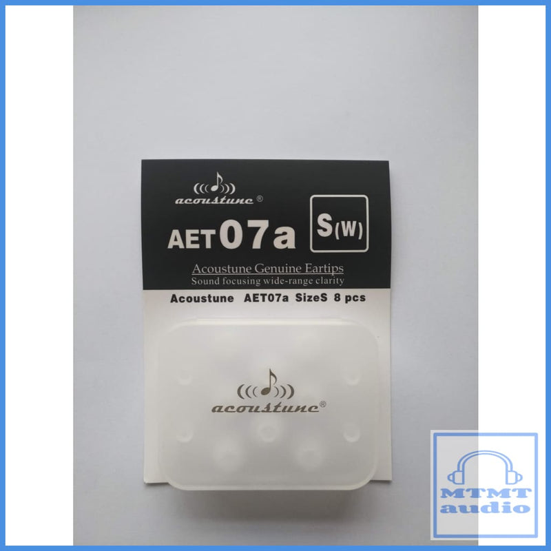 Acoustune Aet07A S M L Eartips 4 Pairs With Case Small S(W) White (4 Pairs Case) Eartip