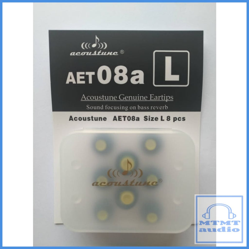 Acoustune Aet08A S M L Eartips 4 Pairs With Case Large (4 Pairs Case) Eartip