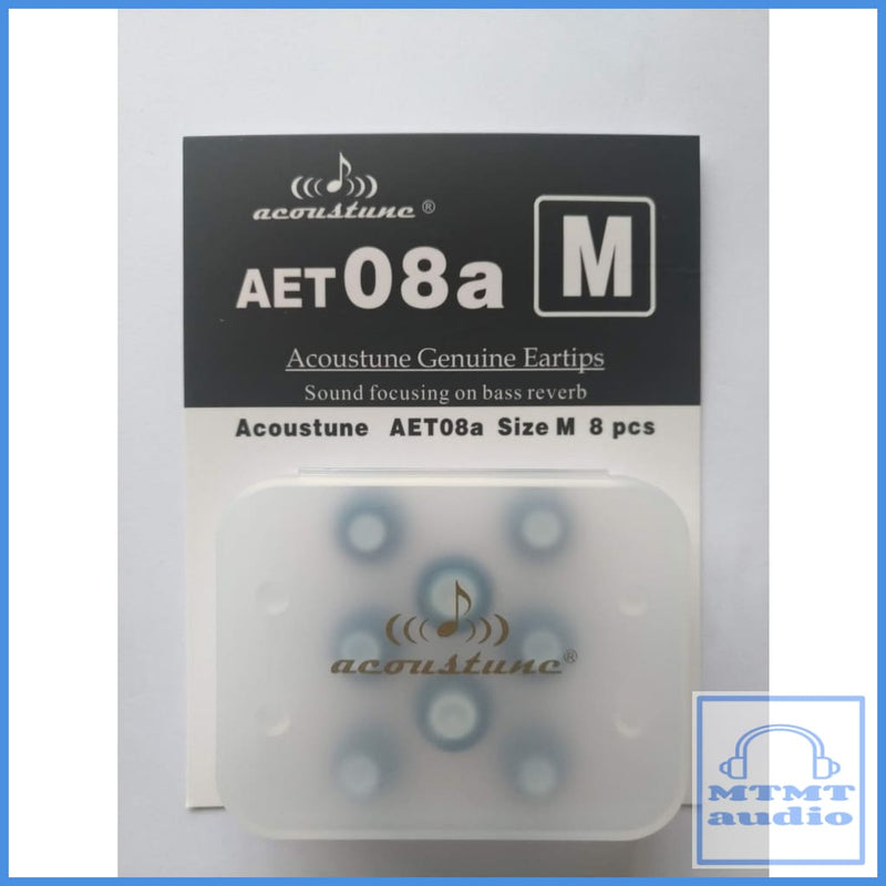 Acoustune Aet08A S M L Eartips 4 Pairs With Case Medium (4 Pairs Case) Eartip