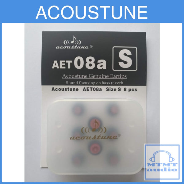 Acoustune Aet08A S M L Eartips 4 Pairs With Case Small (4 Pairs Case) Eartip